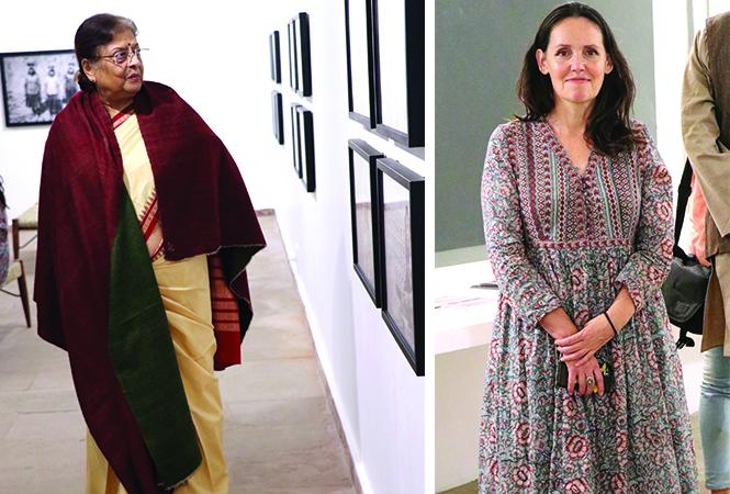 Aruna Raman and Bronia Ivanbrook (BCCL/ Unmesh Pandey)