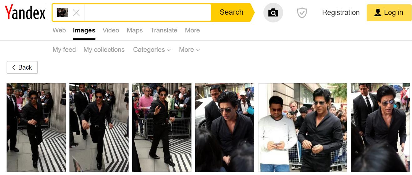 Yandex Search Result