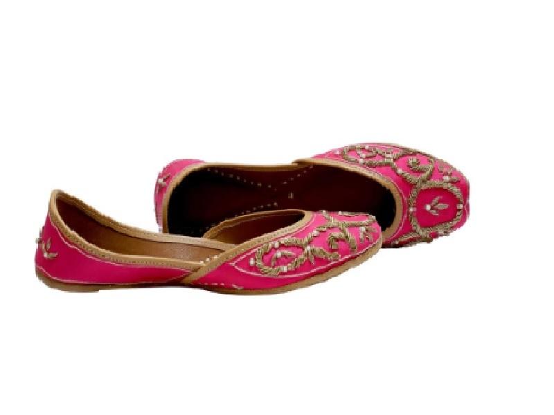 Pink Jutti