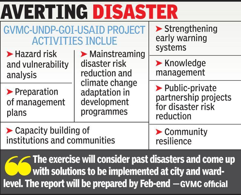 Disaster preparedness study in Vizag city underway
