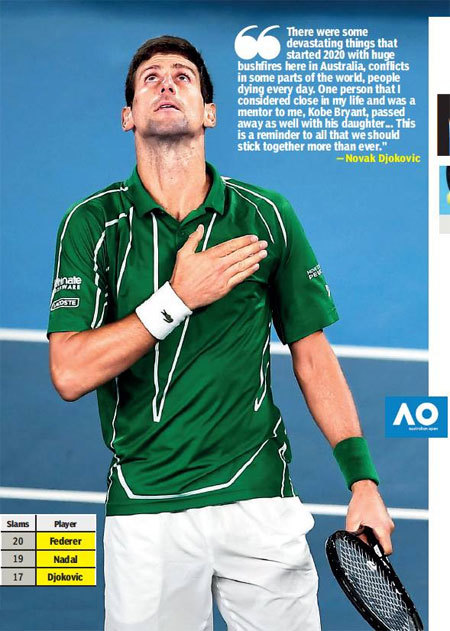 Novak Djokovic Becomes First Man In Open Era To Win Slams In Three Different Decades Tennis News Times Of India