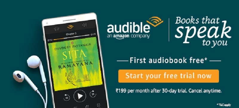 Amazon Audible Free Trial