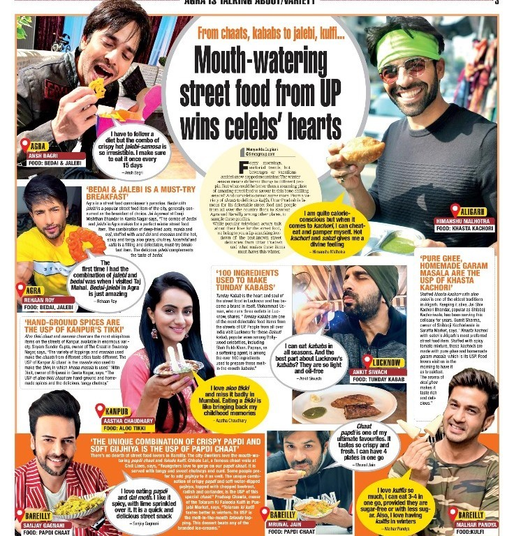 Mouth-watering street food from UP wins celebs' hearts!