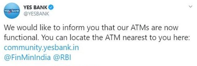 Yes Bank Tweet (1)
