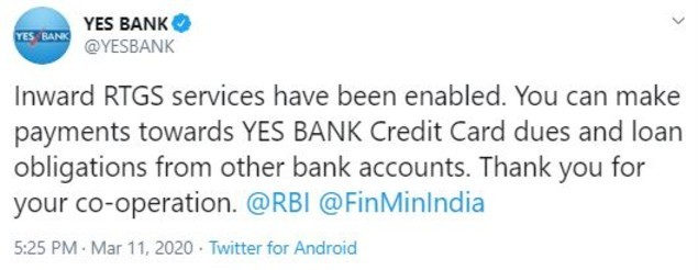 Yes Bank tweet 2 (1)