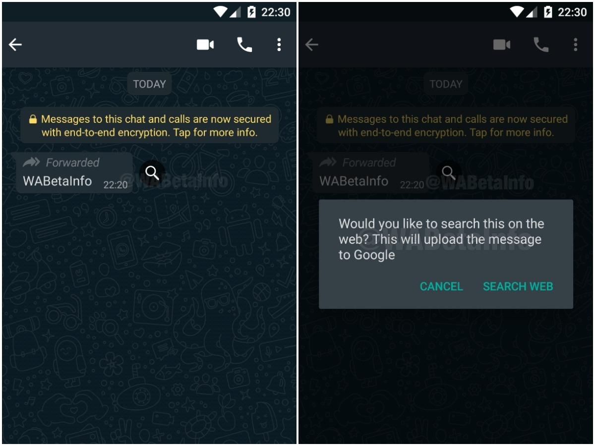 Whatsapp Search Message Feature: WhatsApp may soon allow you to ...