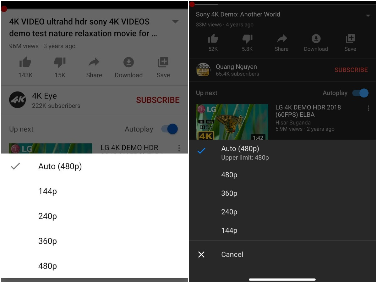 Youtube Restricts Maximum Video Quality Youtube Videos Won T Play