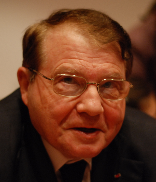 French virologist Luc Montagnier