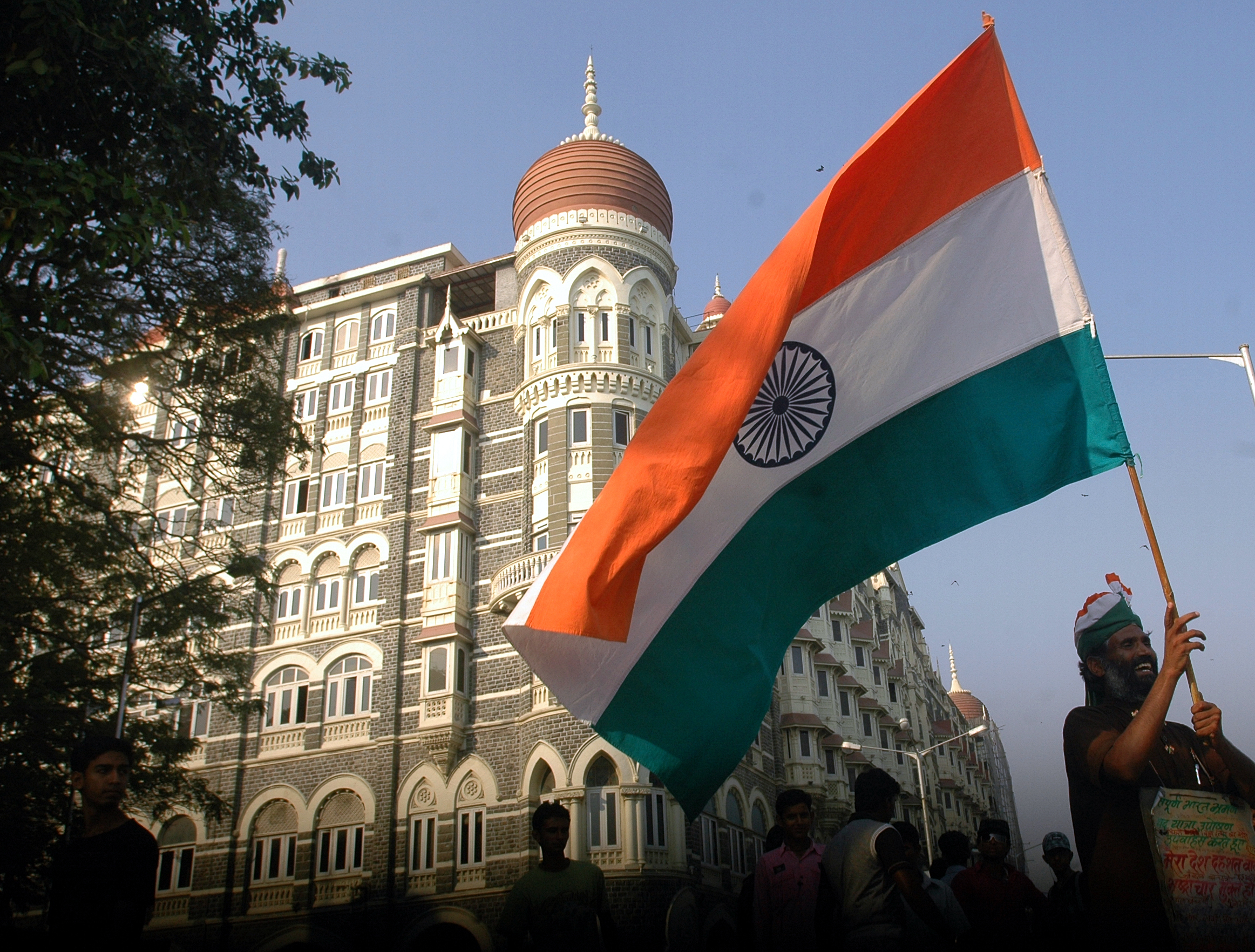 The Taj Mahal Palace hotel now stands as a symbol of endurance and in some sense embodies the Spirit of Mumbai