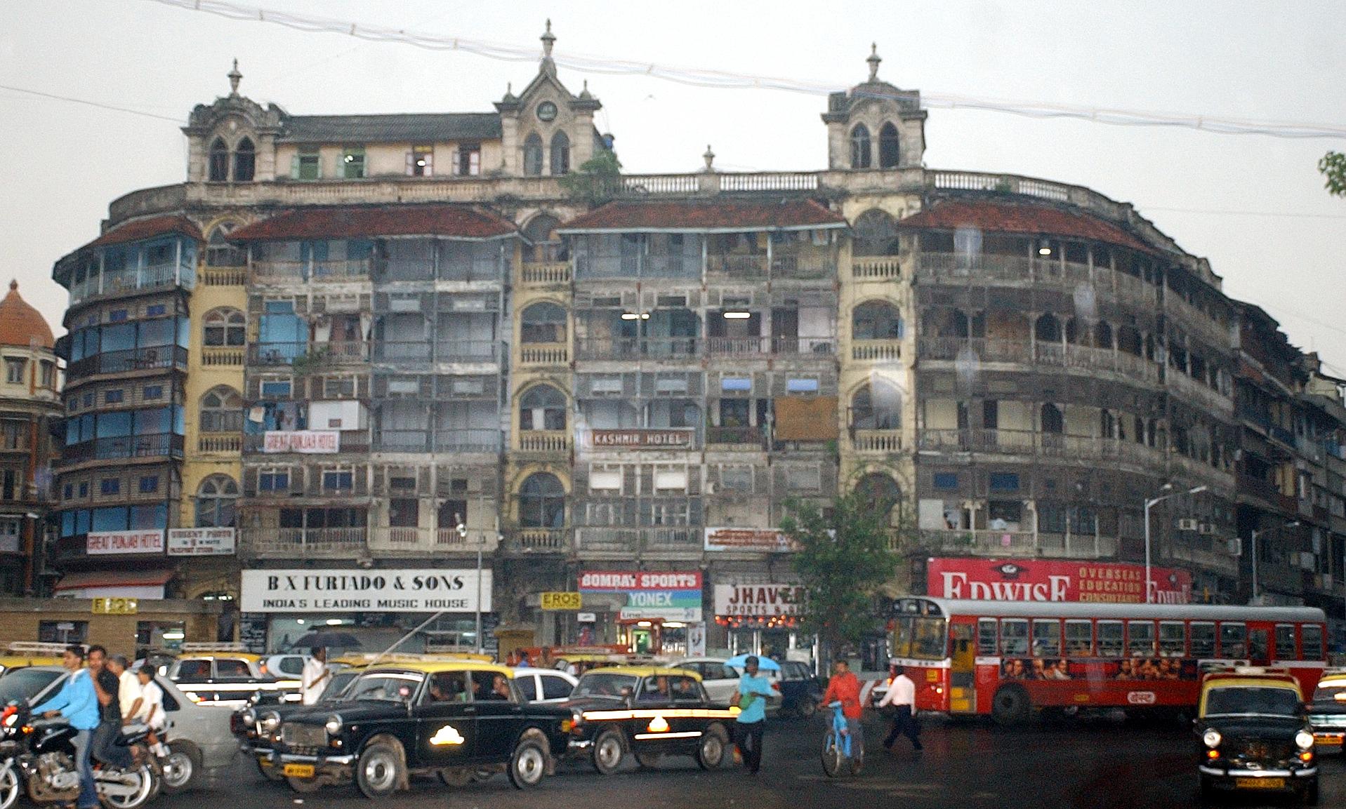 Jer Mahal at Dhobi Talao in Mumbai