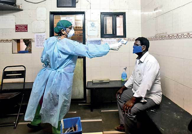 Around 5,000 doctors are needed in the fight against Covid-19; PIC: NILESH WAIRKAR