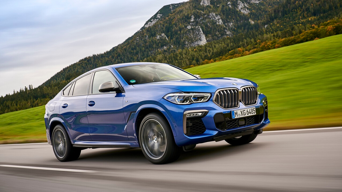 Bmw X6 2020 Price In India Bmw India Drives In 2020 X6 At Rs 95 Lakh