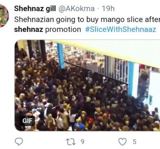 Shehnaaz Gill - Slice Organic Memes (1)
