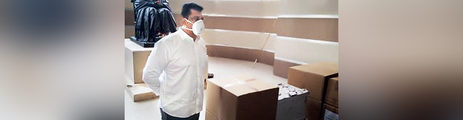 Guardian Minister Aslam Shaikh had facilitated the delivery of the ventilators to JJ Hospital