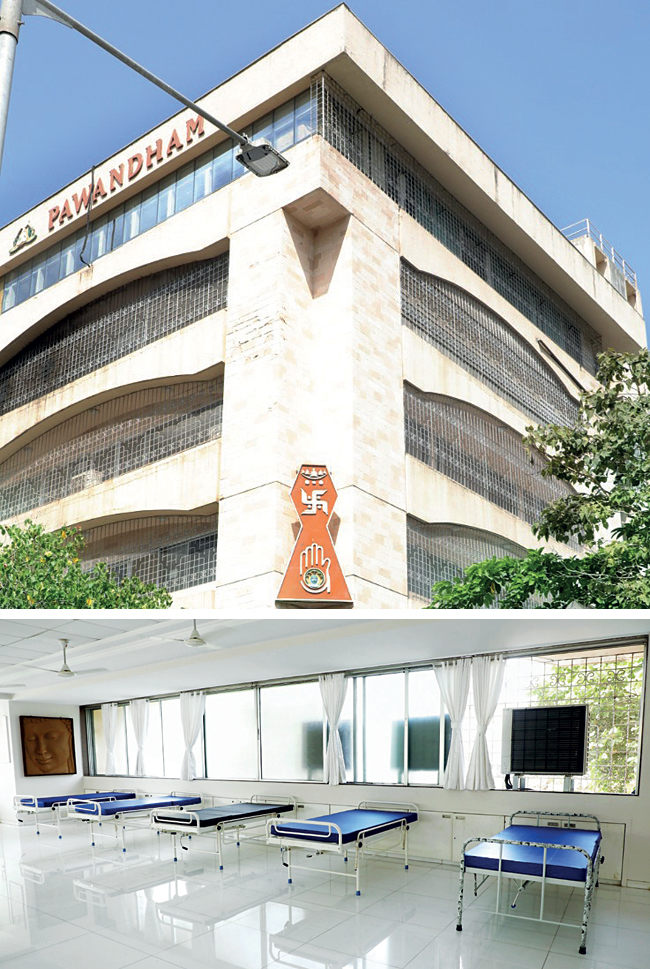 The 65-bed Pawan Dham hospital in Kandivali has treated 230 patients from different communities