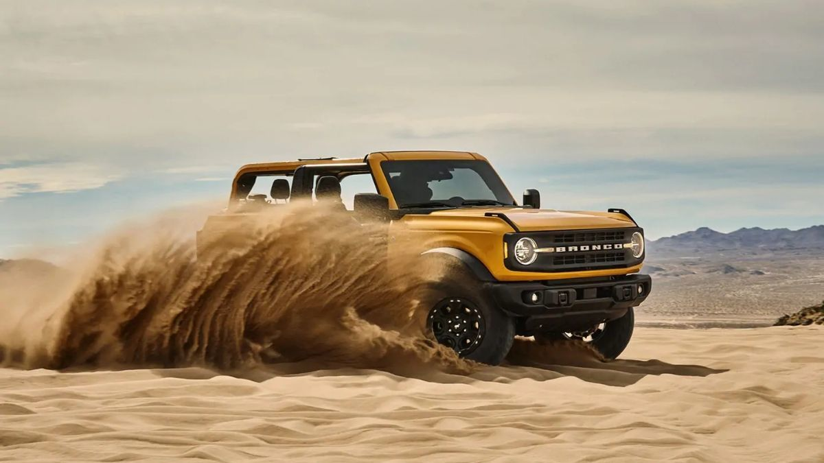 2021 Ford Bronco Launch 2021 Ford Bronco Unveiled In Four Door Avatar