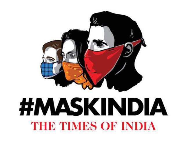 mask india logo