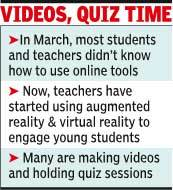 Teachers bounce back, aided by virtual reality