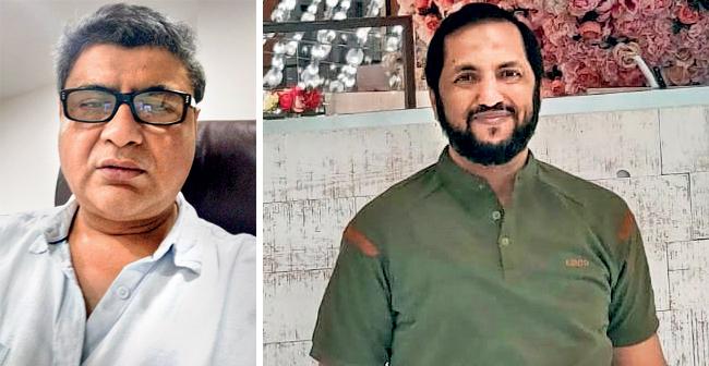 (L) Shankar Karani; (R) Muhbeen Shaikh
