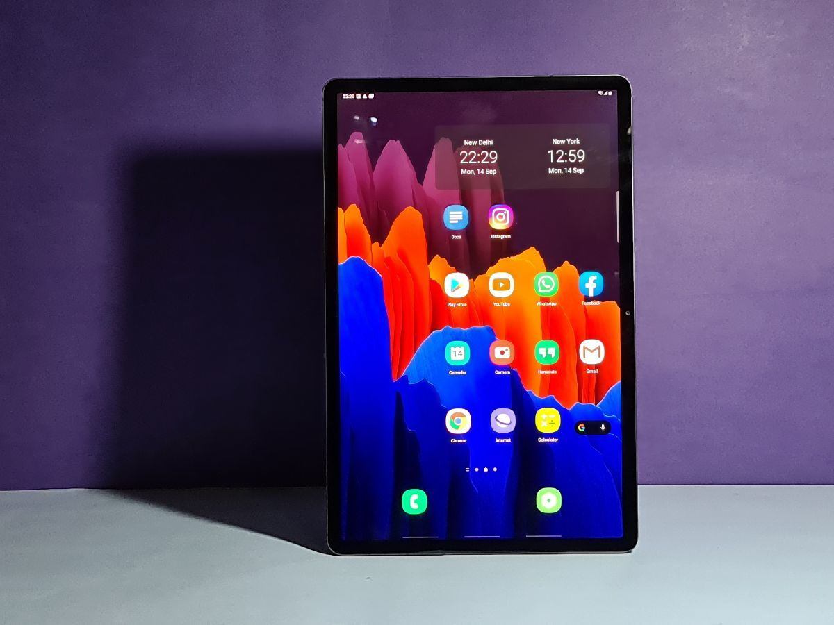 Galaxy Tab S7 Plus Review Samsung Galaxy Tab S7 Plus Review Samsung Galaxy Tab S7 Plus Review Rating Gadgets Now