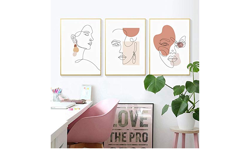 Wall stickers with illustrations