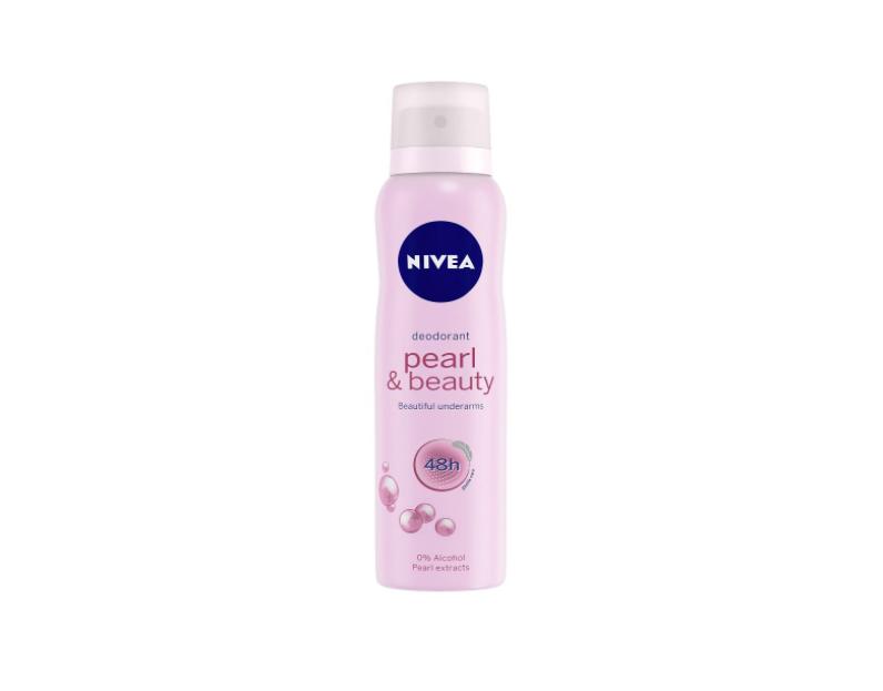 NIVEA Deodorant, Pearl & Beauty, Women