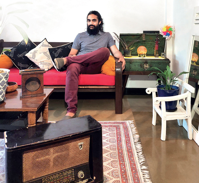 Earl D'Souza thrifts vintage items and waste to create personalised stuff