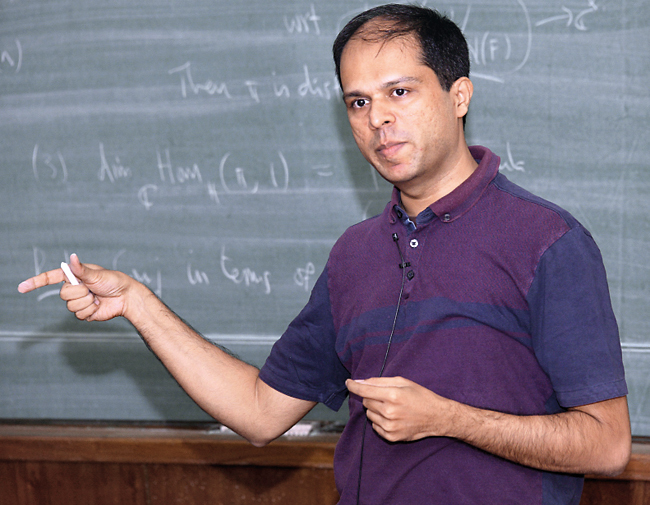 UK Anandavardhanan has been investigating the representation theory of groups (like the Lie groups) (CONFERENCES.MATH.TIFR.RES.IN)