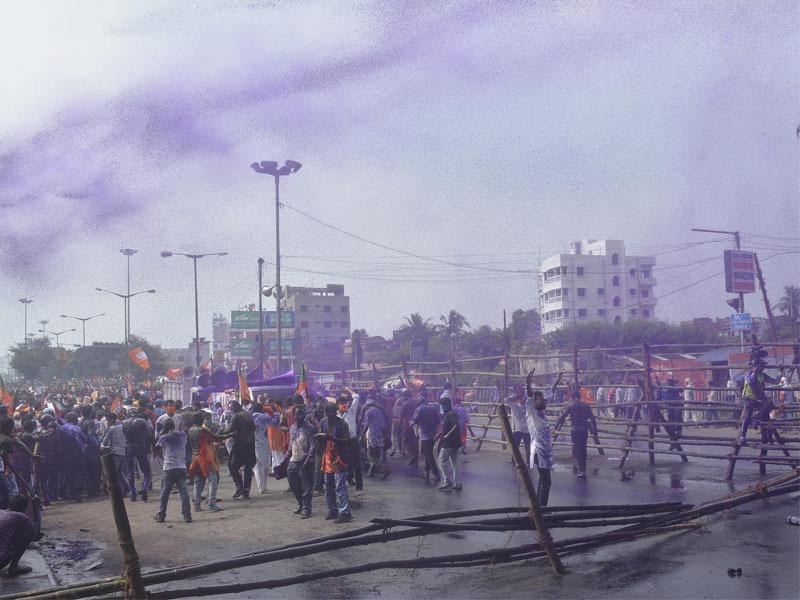 BJP activists brave police-TMC combine: 4 flashpoints in Kolkata, Howrah [internal image 3]
