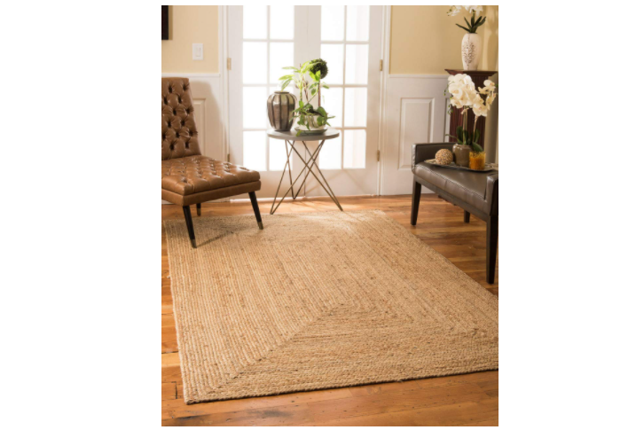 Earthy woven rug for Rs 1,199