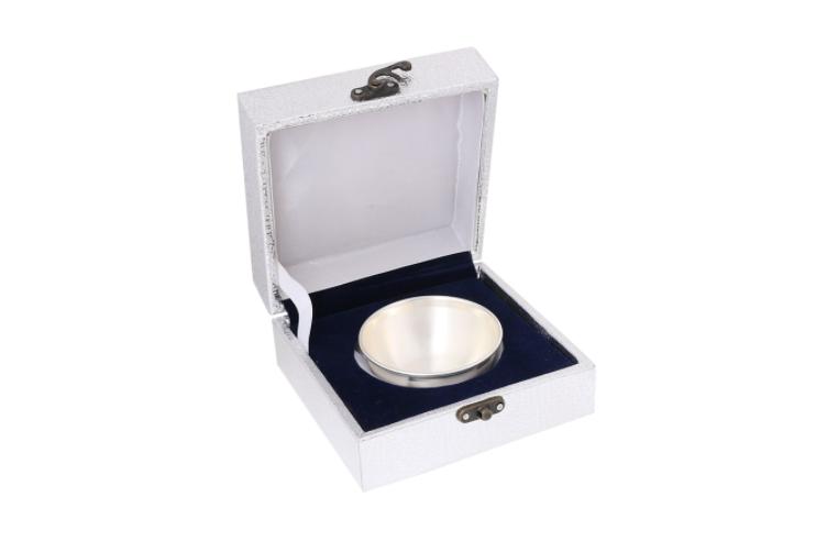 Osasbazaar Pure Silver Bowl for Pooja & Dessert - 97%-99% BIS Hallmarked