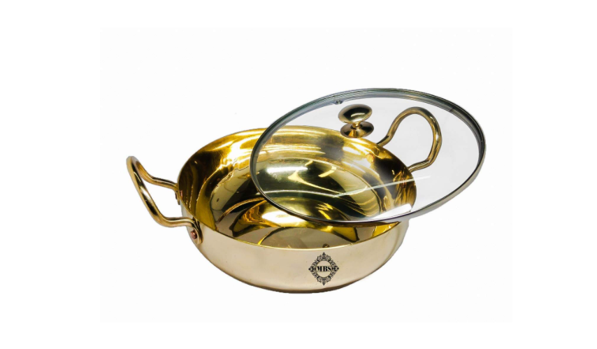 MBS Multi Purpose Brass/Pital Kadhai