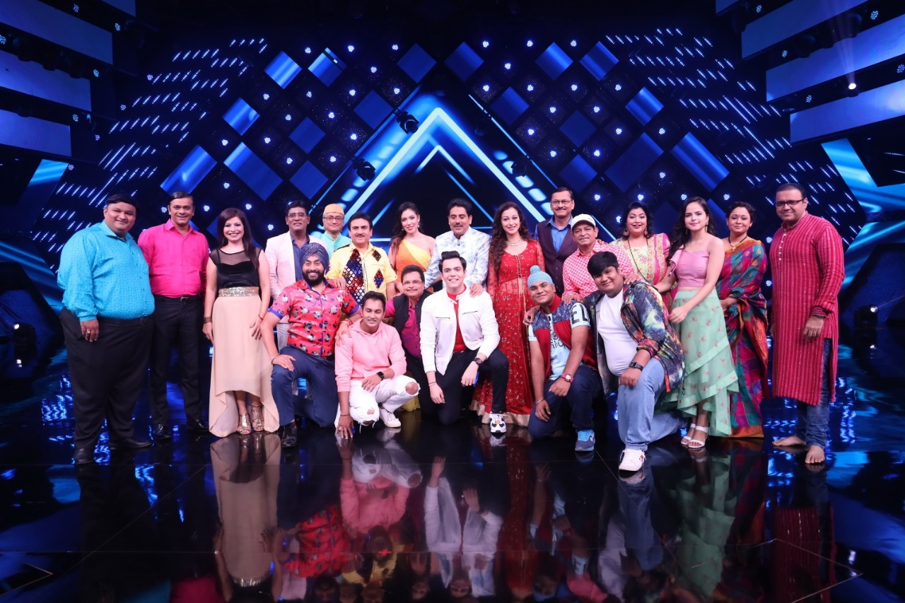 The TMKOC family on the sets of India's Best Dancer