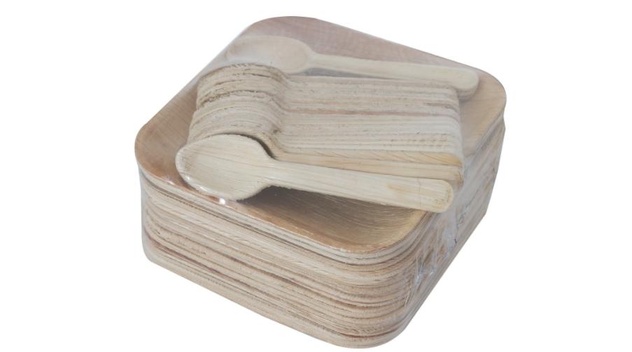 Bio-Degradable serving plates