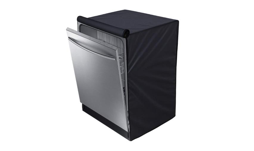 Dishwasher cover in black
