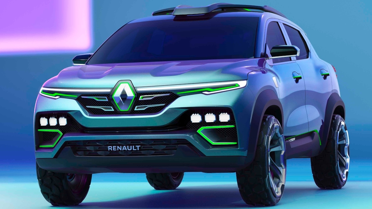 Renault Kiger B SUV Launch Date: Renault Kiger B-SUV concept breaks cover, launch in India soon