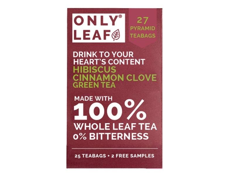 ONLYLEAF Hibiscus Cinnamon Clove Green Tea