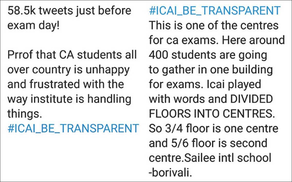ICAI adamant on exams