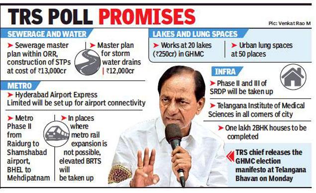 Ready to give nation direction, says Telangana CM K Chandrasekhar Rao    Hyderabad News - Times of India