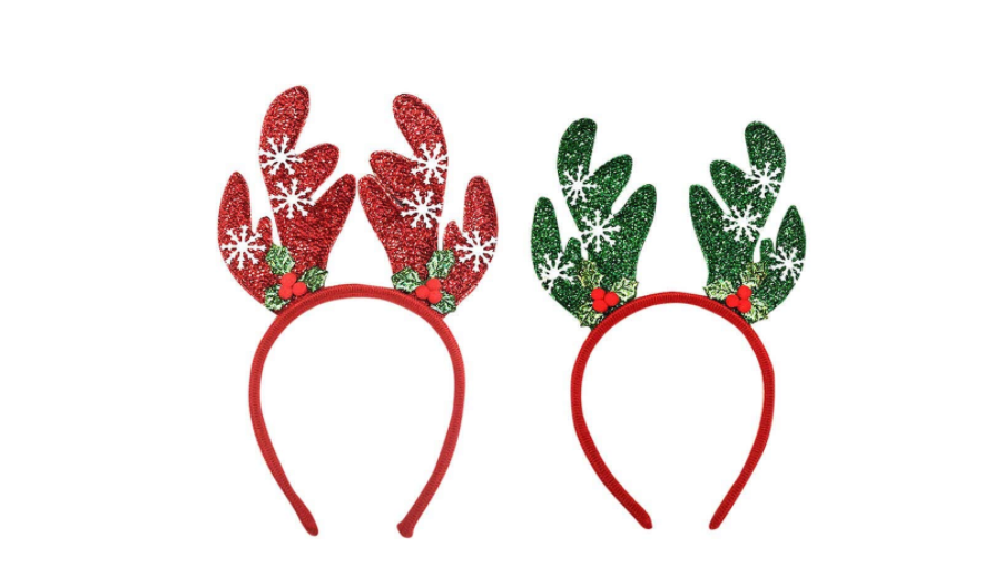 Reindeer inspired party props