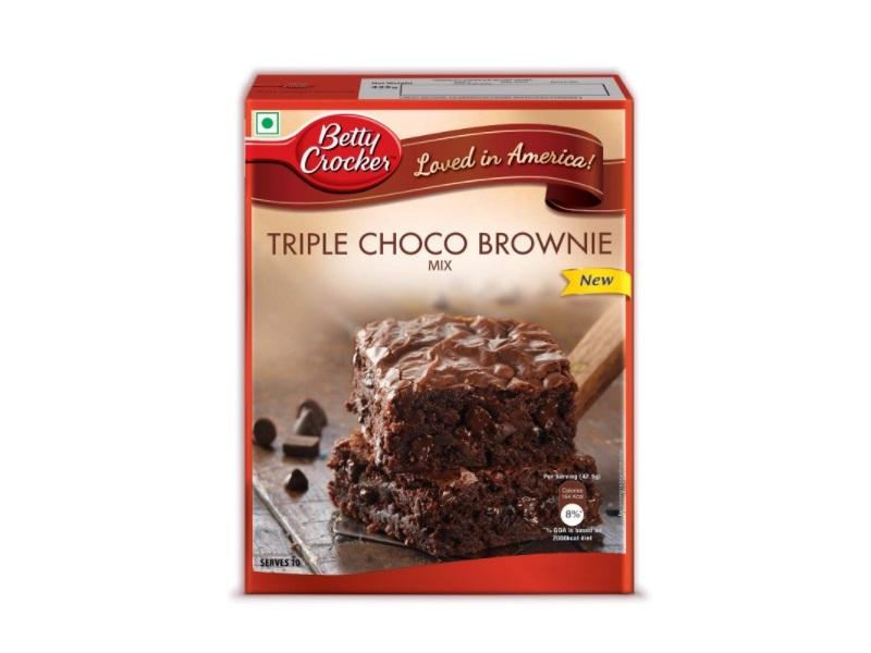 Betty Crocker Brownie Mix, Triple Choco Brownie