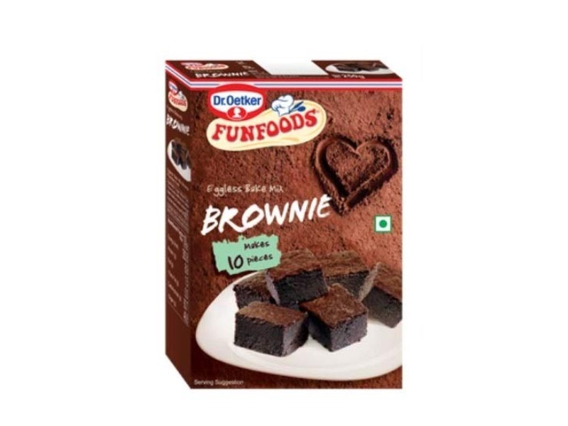 FunFoods by Dr Oetker Eggless Bake Mix Brownie