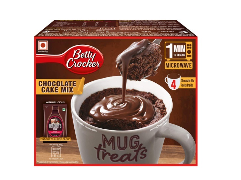 Betty Crocker Mug Treat Chocolate Cake Mix Bag