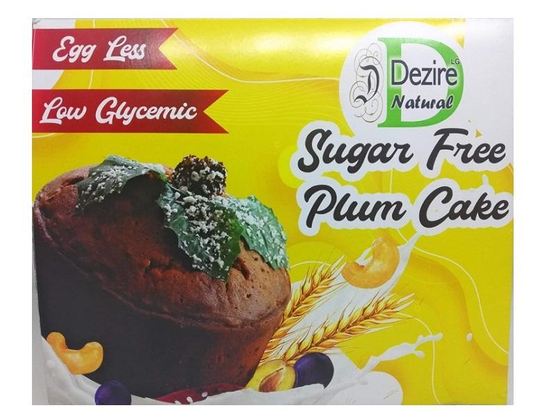Dezire LG Natural Christmas Gifts Sugar-Free Eggless Plum Cake