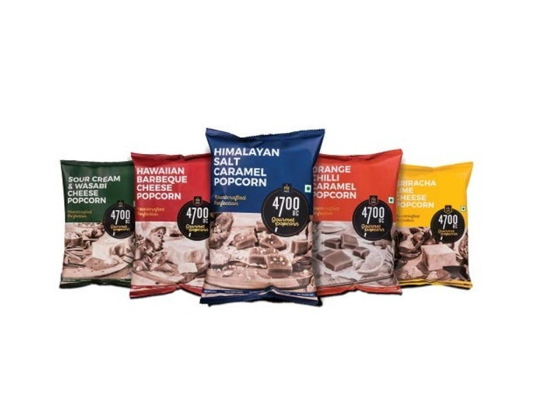 4700BC Gourmet Popcorn, 5 Flavours Pack