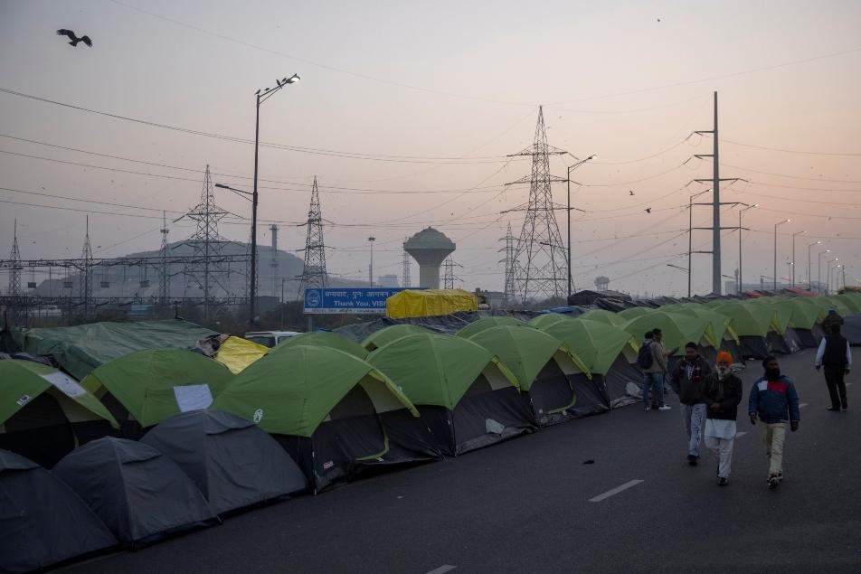 tents farmers noida Reuters 635
