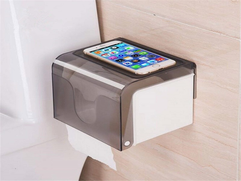 LWVAX Magic ABS Sticker Series Self Adhesive Kitchen Office Bathroom Toilet Dispenser