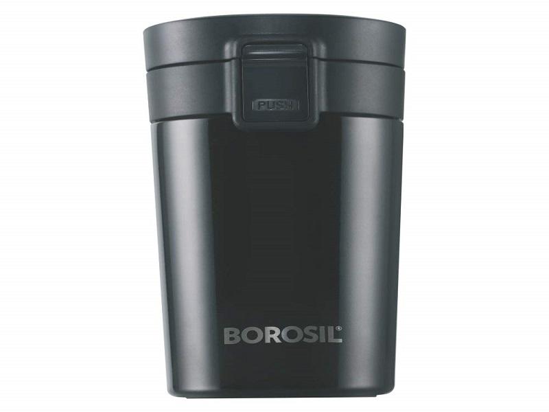 Borosil - vacuum insulated Hydra Coffeemate stainless Steel travel mug