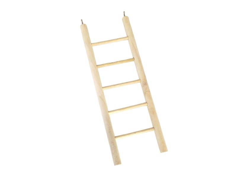 KSK Wooden and Metal Ladder Toy for Bird
