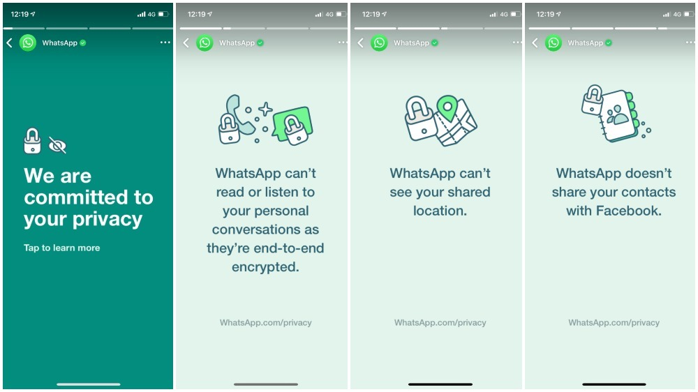 WhatsApp puts 'privacy' as Status to reach out to users - Latest News | Gadgets Now